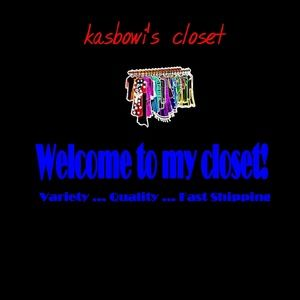 Welcome to my closet! Read about it here.